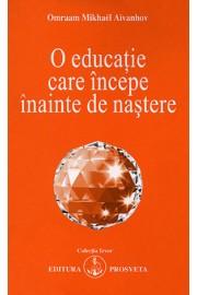 O educatie care incepe inainte de nastere